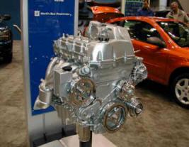Aluminum Engine Display