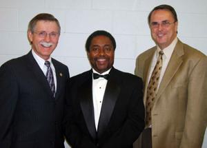 Ron Gettelfinger, Steve Pryor and Lloyd Mahaffey