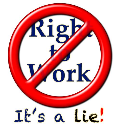 Say No! to Right to Work